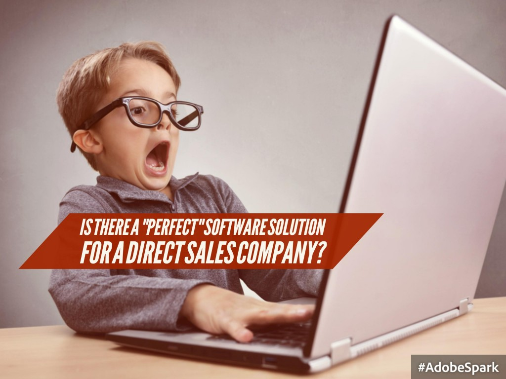 "In Search of the ""Perfect"" E-Commerce Solution for Your Direct Selling Company"