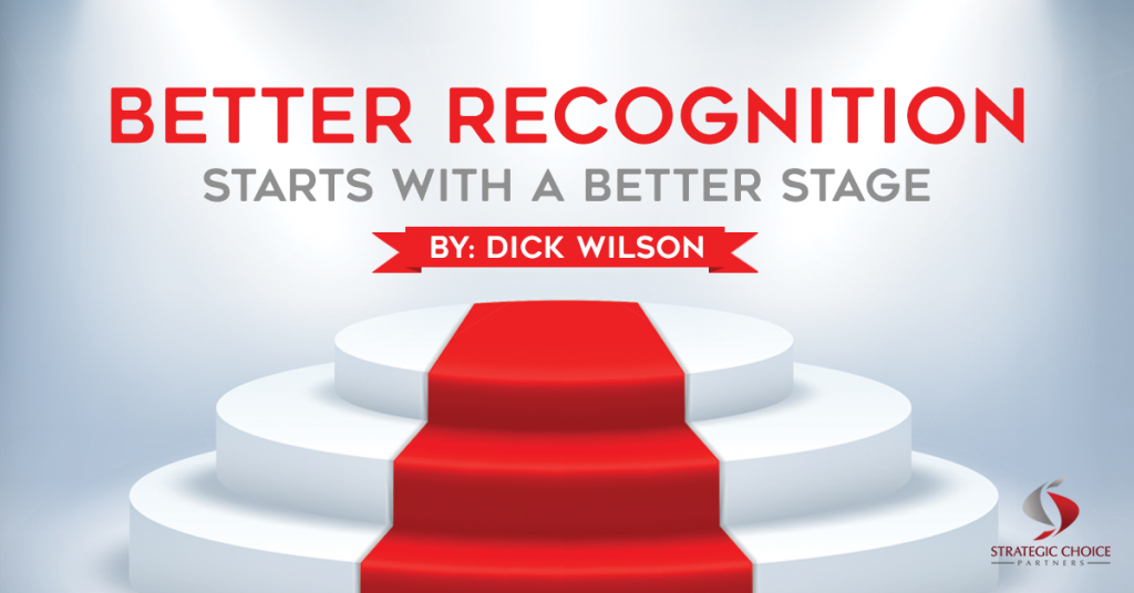 Better Recognition Starts with a Better Stage