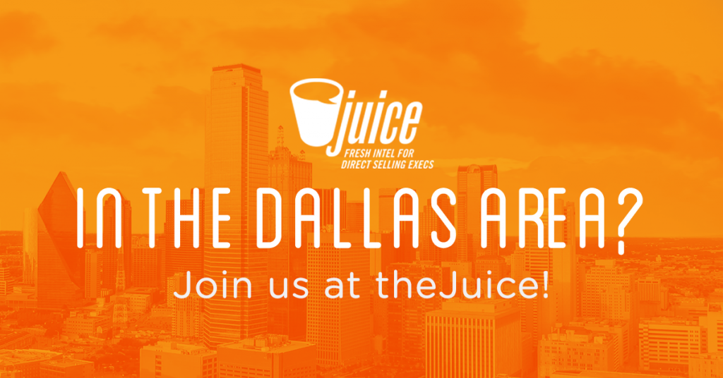 In the Dallas Area? Join Us at theJuice on May 17!