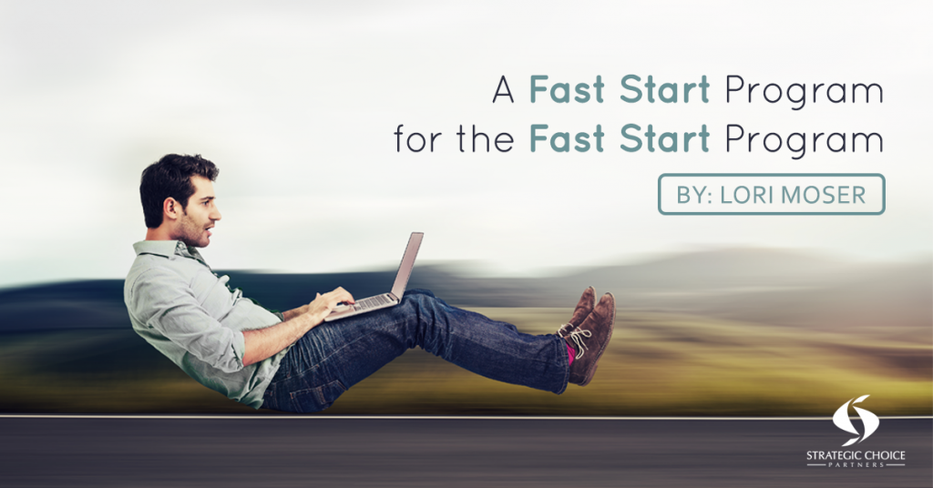 A Fast Start Program for the Fast Start Program