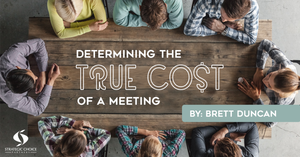 Determining the True Cost of a Meeting