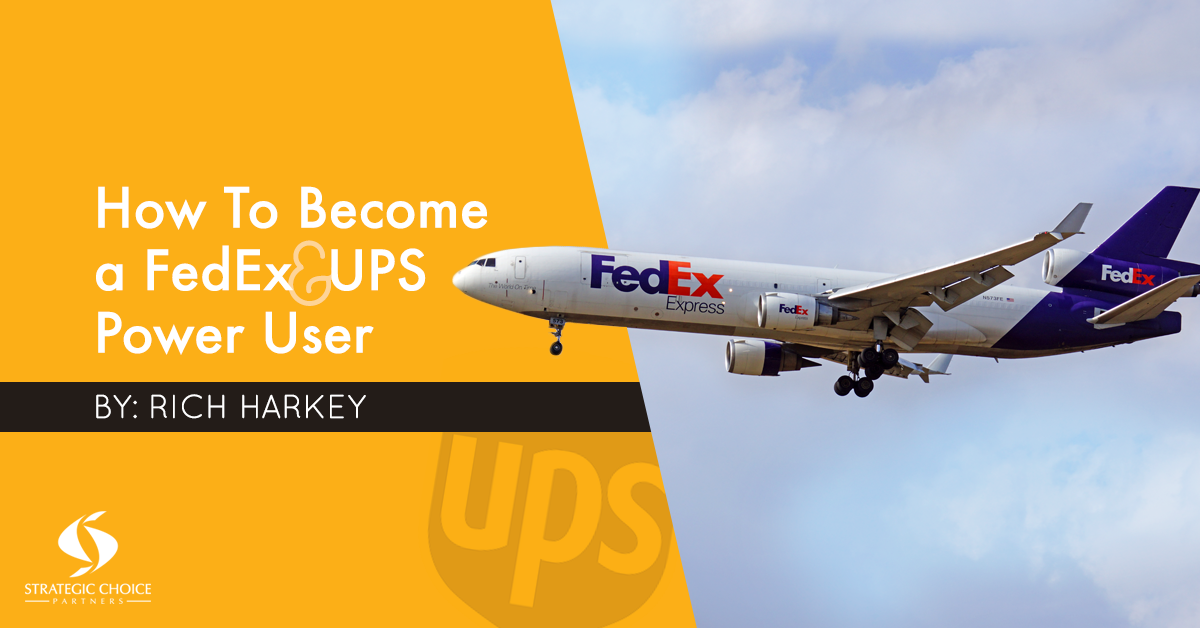 How to Become a FedEx & UPS Power User