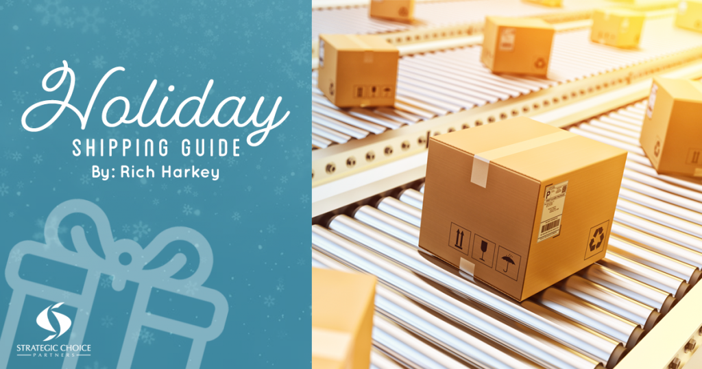 Holiday Shipping Calendar