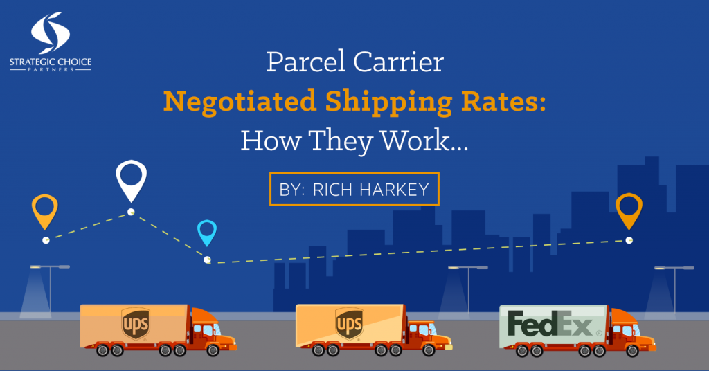 Parcel Carrier Negotiated Shipping Rates: How They Work…