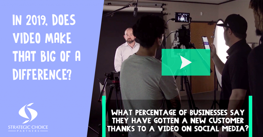 In 2019, Does Video Make That Big of a Difference?