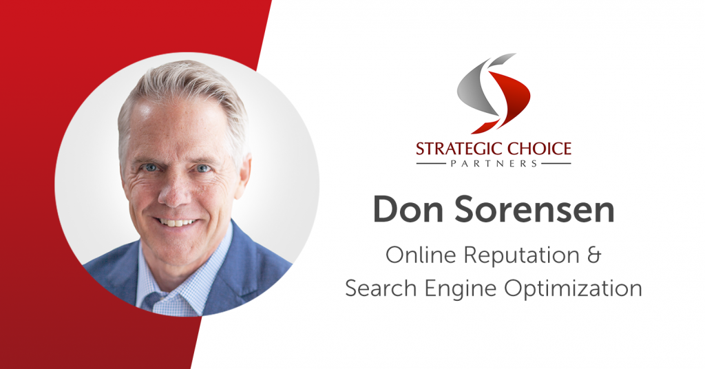 SCP Adds Online Reputation and SEO Skills with Don Sorensen