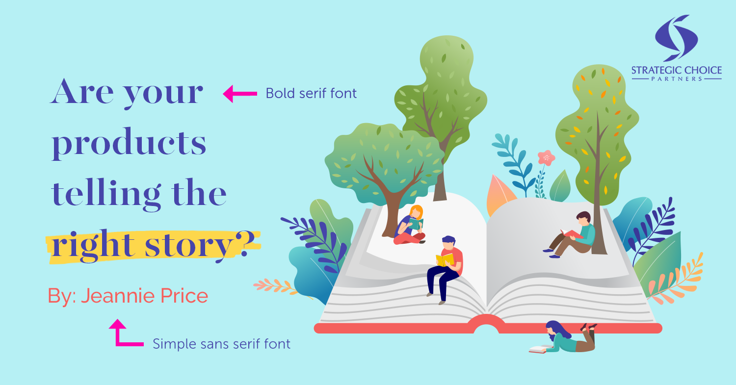 Tip 3: Use 2 Opposite Fonts