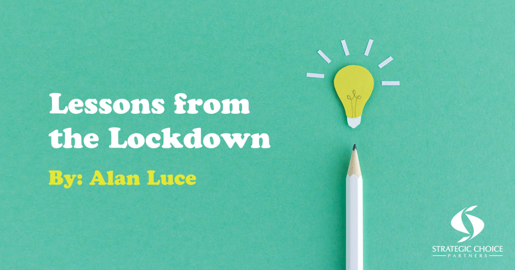 Lessons from the Lockdown