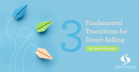 3 Fundamental Transitions for Direct Selling