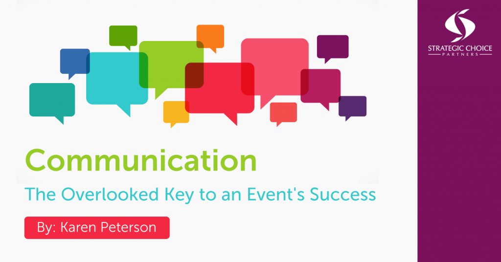 Communication: The Overlooked Key to an Event's Success